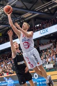 2. Basketball Bundesliga, Hauptrunde, Hinrunde, 1. Spieltag, 22.09.2017, RASTA Vechta - Römerstrom Gladiators Trier, Saison 2017/18