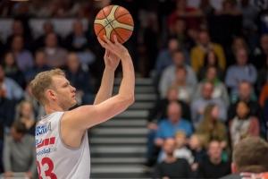 2. Basketball Bundesliga, Hauptrunde, Rückrunde, 16. Spieltag, 03.01.2018, RASTA Vechta - Orange Academy Ulm, Saison 2017/18